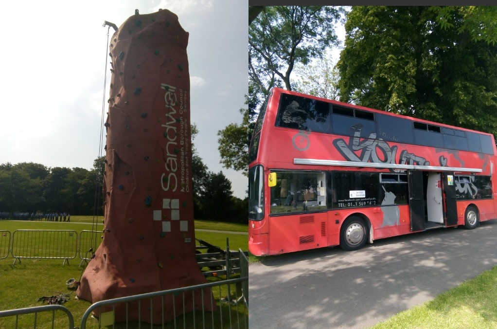 Youth_bus_and_climbing_wall