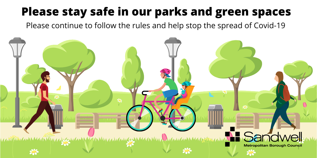 Please stay safe in our parks as restrictions are lifted